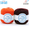 china hand knit spun silk yarn mill smb hot selling oeko tex silk blends cotton acrylic yarns for knitting