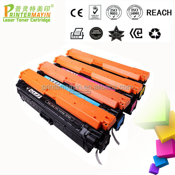 CE270A Color Toner Cartridge Compatible for HP 650A Toner Cartridge