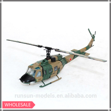 1:100 scale JGSDF Bell UH-1 Iroquois/Huey Military Helicopter, die cast toy helicopter model