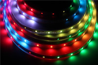 5M 30Pixel/M 150 5050 RGB SMD WS2811 IC Built-in WS2812B WS2812 white PCB Addressable Color IP67 Tube Waterproof Strip DC12V