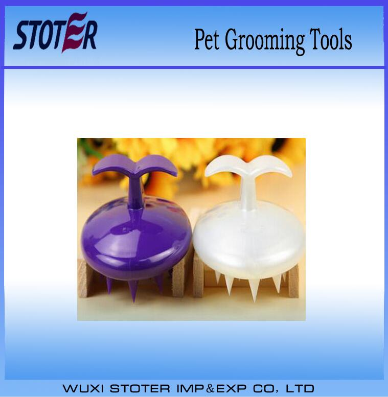 good quality newest Pet Grooming Tools Comb Soft Silicone Bath Brush