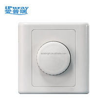 220V LED Dimmer Switch Push on/off Rotary Brightness Triac