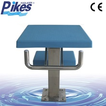 Competition Standard Style Swimming Pool Starting Block for Athletic Swimming