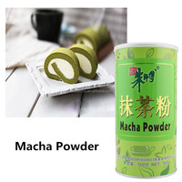 Master-Chu matcha green tea powder for cake ingredients with HALAL 500g