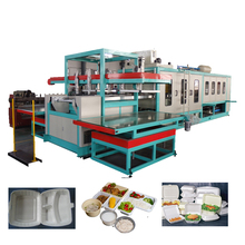 Popular type disposable plastic cups making machinery series ps foam food box thermoforming machine