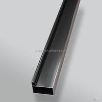 extrusion aluminium profile for light box perfil de aluminio