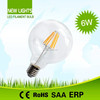 2015 high efficacy energy saving bulb led filament bulb with plastic parts