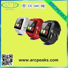 Accept paypal payment new wristwatch smart watch U8 for christmas best gift