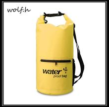 Hot selling dry bag waterproof backpack with low price