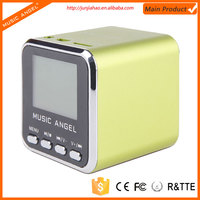 2013 Music Angel mini t-2096a wireless bluetooth speaker aluminum