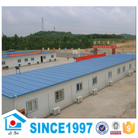 Prefab Sandwich Panel Wall And Light Steel Frame 150 Meters House Design