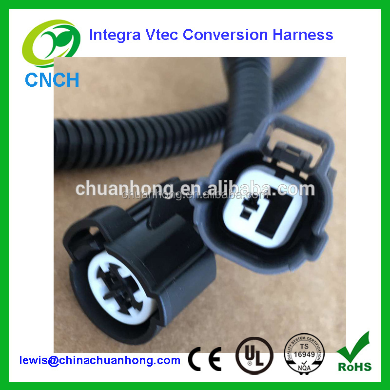 Vtec Conversion Wire Harness Engine Sub-Harness ITR GSR B18C B16a B17a D16z6 D15B Or w/out Wiring Connector Factory Supplier