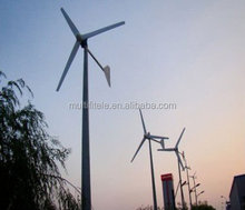 1kw 2kw 3kw 5kw 10kw 20kw horizontal axis wind generator windmill for home used