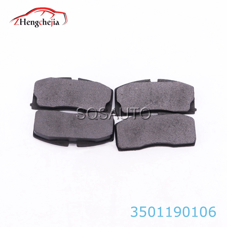 mass supply OEM  3501190106 Auto part Front wheel brake pads for Geely