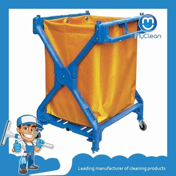 cheap hotel laundromat cleaning cart for sale