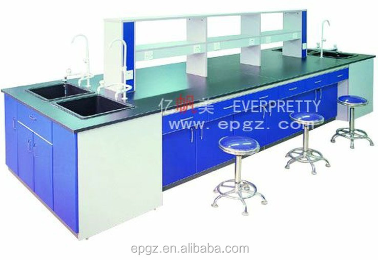 dental technician table , side table adjustable height ,laboratory sink bench