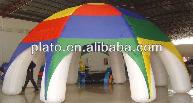 Advertising inflatable outdoor tent / giant inflatable big event tent for sale