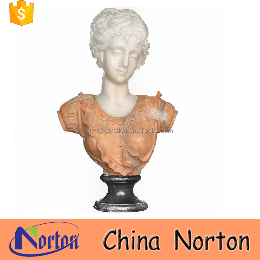 New design female marble bust statues for sale NTMS-B036Y