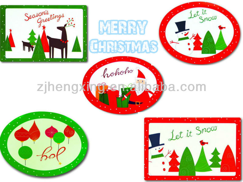 hengxing 2012 new design pp dining placemat set