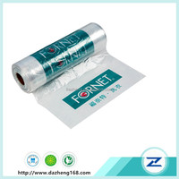 Dry clean poly plastic garment bags laundry bag in rolls