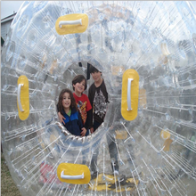Giant inflatable human bubble ball, wholesale ball pit balls zorb rolling ball, cheap zorb balls for sale