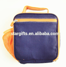 online shopping China suppliers Foldable Insulated 600d Polyester Lunch Cooler Bag with bottle holder