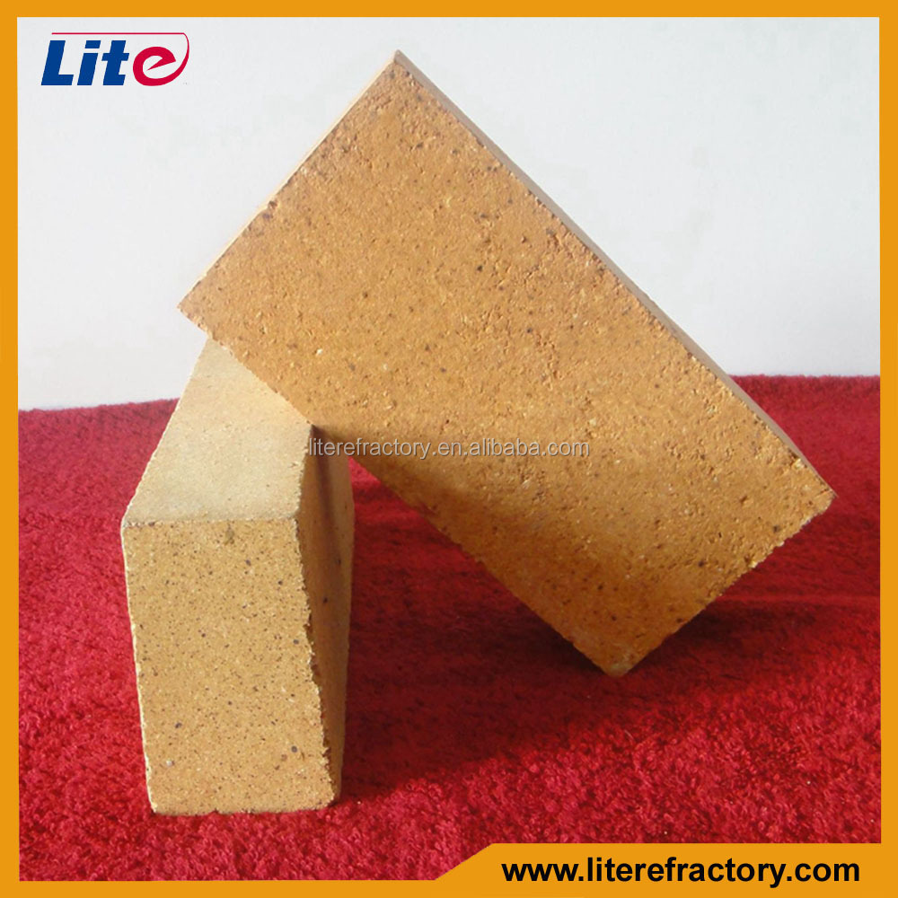 SK Good Erosion Resistance High Alumina Fire Clay Brick for Aluminium Scrap Melting