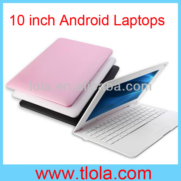 Low Price 10 inch Android Via8850 Laptop with WIFI Webcam
