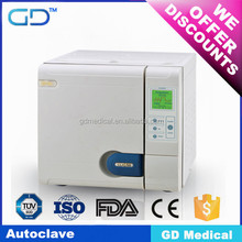 Top Sale CE approved class B 18L clinic dental autoclave for dentist