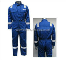 comfortable 100% cotton twill coverall for pilot