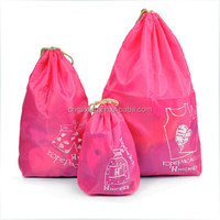 Wholesale 400 Polyester Drawstring Bag For Travel
