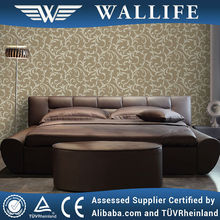 YF10406 / light color pvc material wallpaper cover manila