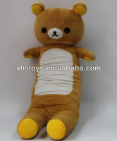 100 polyester stuffed bear large plush doll