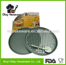 Reusable microwave pizza tray BK-D6034 OKAY