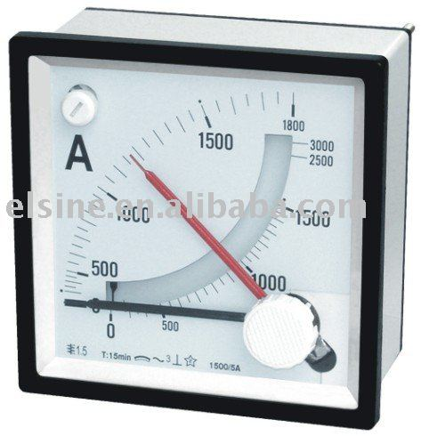 Maximum Demand Ammeter with Moving Iron indicatorndicator