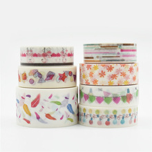 Low price of adhesive colored craft tape for packaging