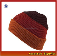XJ01011/Adult knitting hat and cap / adult knit acrylic hat