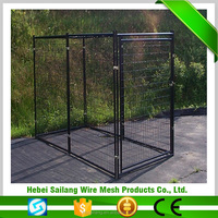 Black metal pet carrier dog cage unique products to sell