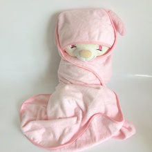100% organic Bamboo hooded baby towel bamboo baby wrap 500GSM