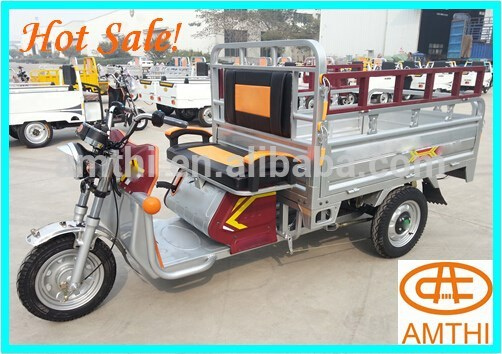 Motor cargo tricycle/electric tricycle for cargo/3-wheel electric tricycle , 3 wheel cargo tricycle for adults