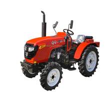 high quality 4x4 electric 4 wheel drive Luzhong304 small farm tractor for sale