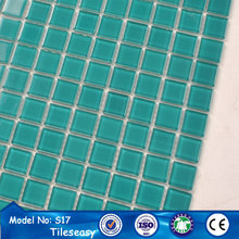 italian discount clear transparent crystal glass mosaic tile