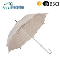 Advertising Custom Gift Unique Rain And Sun Designer Stick Umbrella