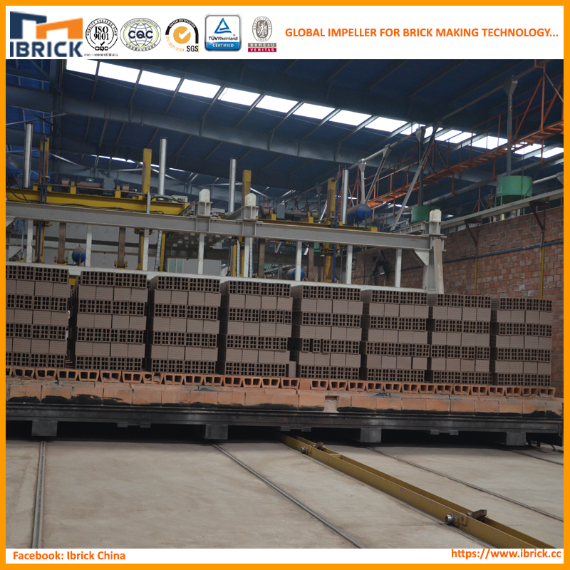 Perfessional manufacturer automatic clay brick tunnel kiln production line/clay roof tile kiln
