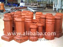 [wholesale] Chimney pot - Clay chimney base - Chiminea pots - Fireplace for construction & building engineering.