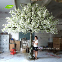 GNW BLS066 10ft Outdoor Artificial Cherry Blossom Tree PInk Decorative flower trees for home garden use