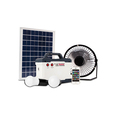 Rechargeable Solar Generator 15w Solar Power Generator System with led bulbs