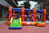 2016 China Factory Inflatable Red Multi use combo with Bouncer and Slide for Kids