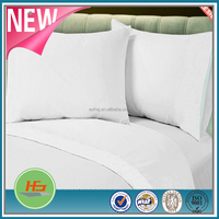 Chinese Hot Cake White Plain Cotton Bed Sheet Flat sheet