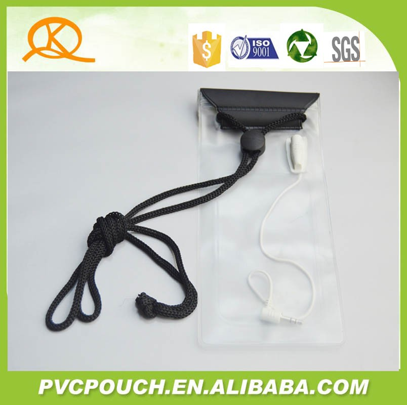 PVC Material and Apple iPhones Waterproof Phone Bag